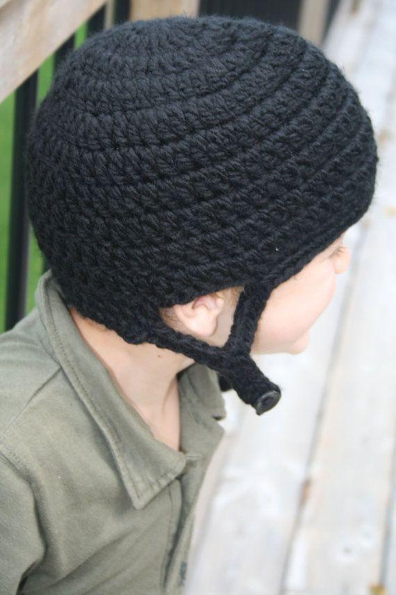 Hockey Helmet Hat Crochet Pattern Newborn By Kidzlidzandotherdigz