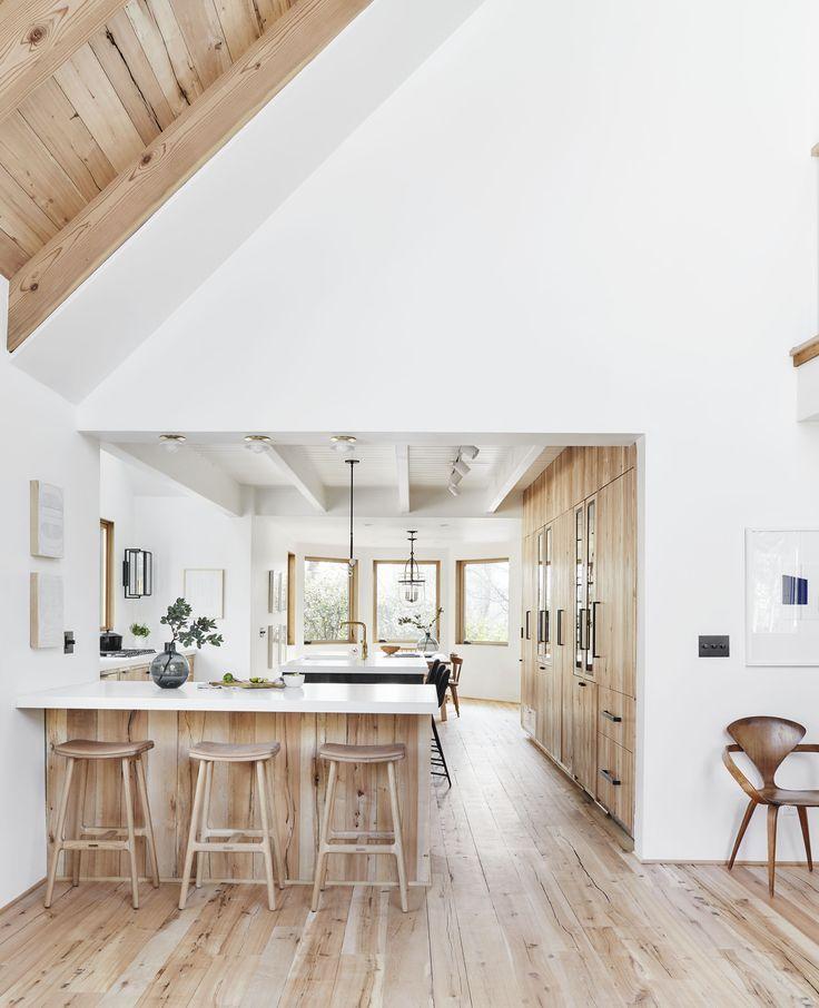 Before After Our Scandinavian Inspired Mountain House Kitchen Remodel Kitchen Design Scandinavian Kitchen Kitchen Renovation