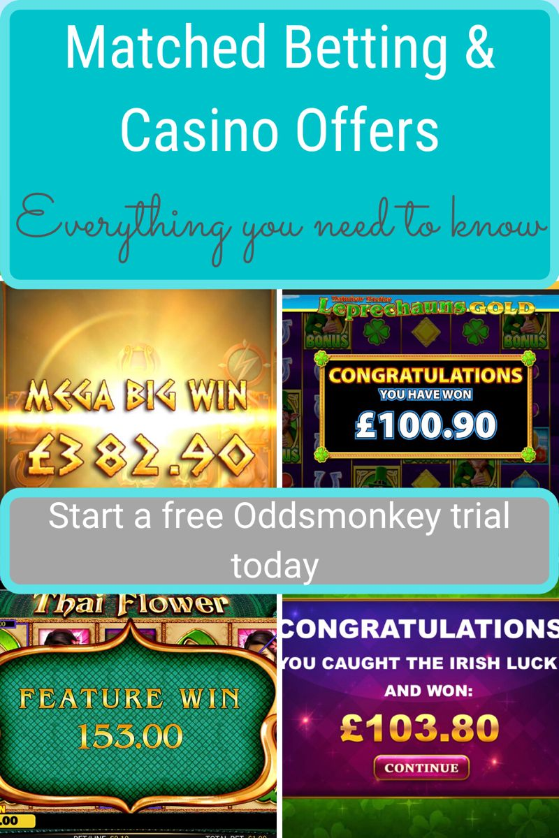 Matched betting how to profit from casino offers in 2020