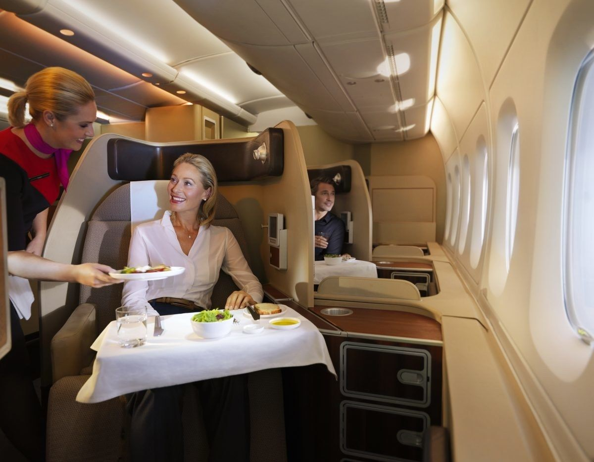 The 10 Most Luxurious First Class Airline Cabins First Class Airline First Class Flights First Class Seats