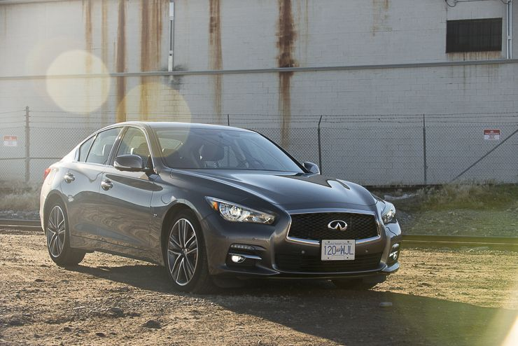 In Pictures: 2015 Infiniti Q50 AWD