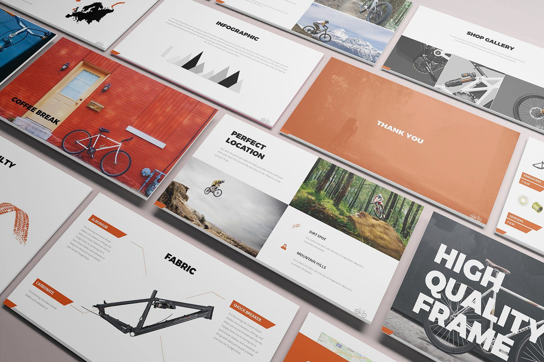 Bicycle Powerpoint Presentation Presentation Slides Templates Powerpoint Presentation Creative Powerpoint Templates