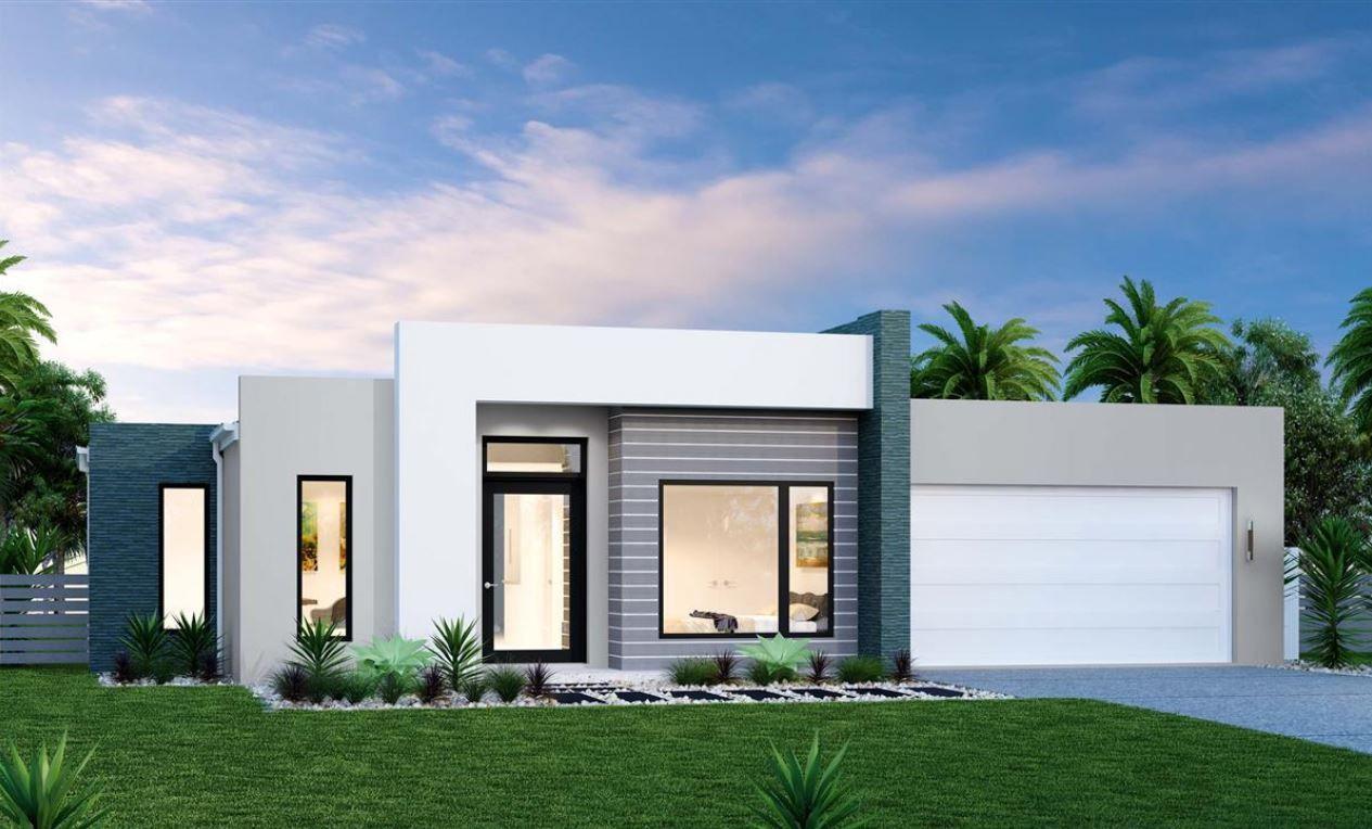 15 Fachadas de casas modernas de una planta Fachadas de