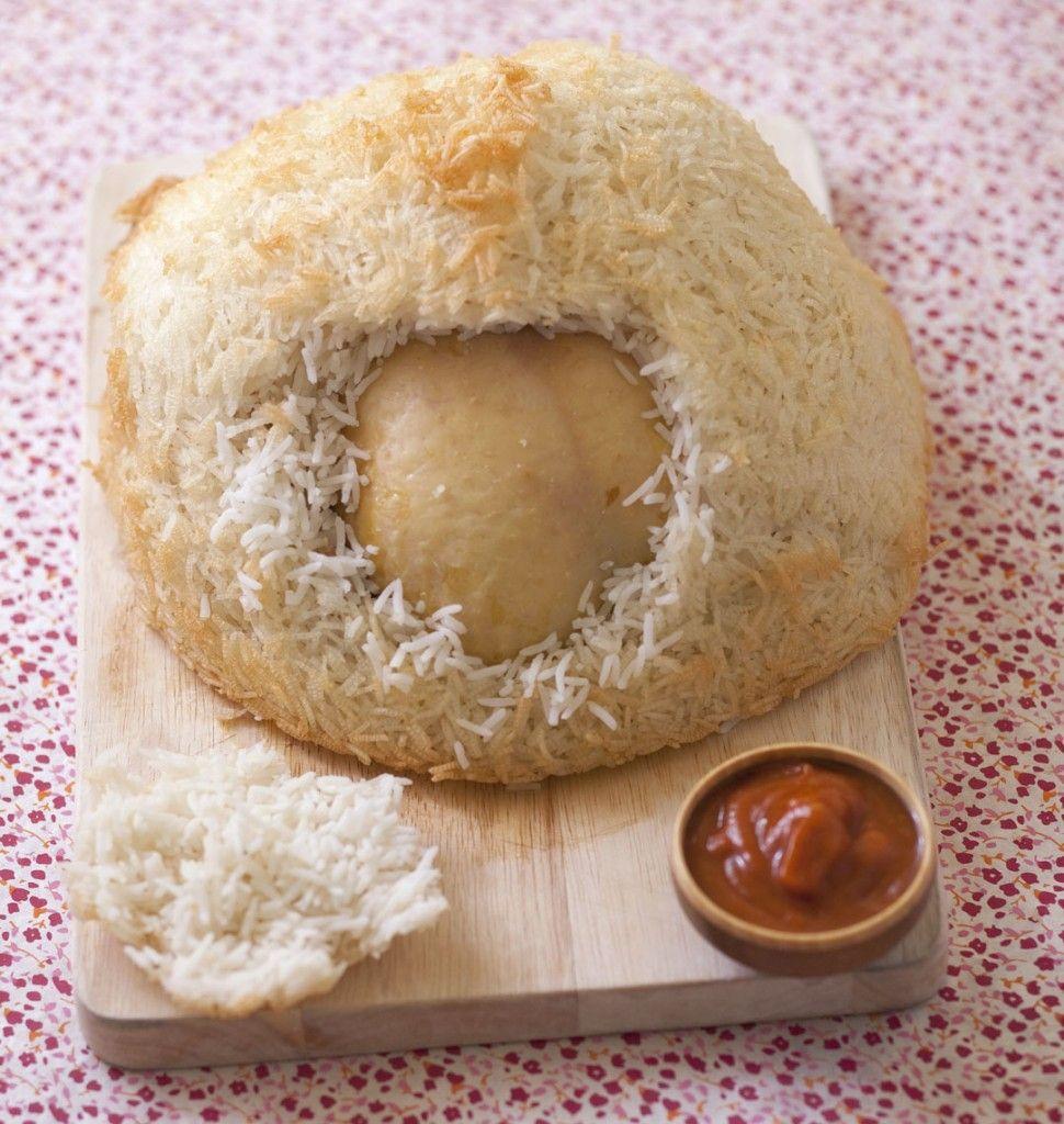 Poulet cuit en cro te de riz par jean fran ois pi ge - Cuisiner une poule faisane ...