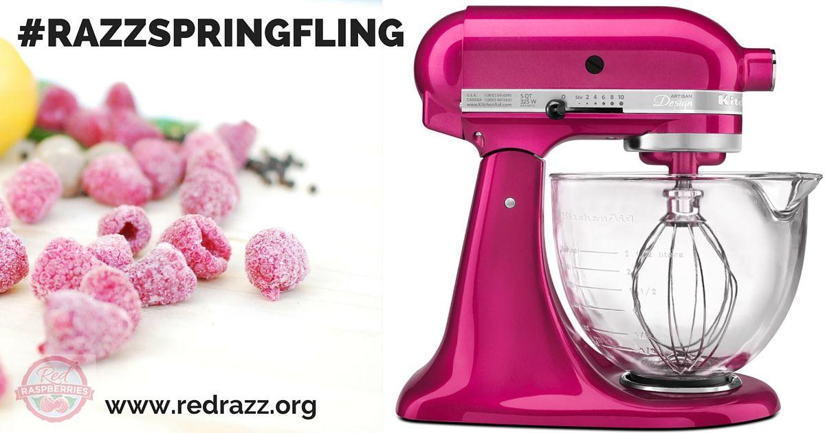 Enter to win a raspberry ice kitchenaid artisan 5quart