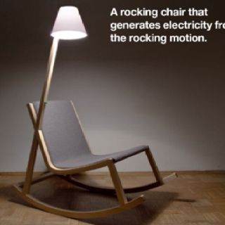 I would totally love this chair.