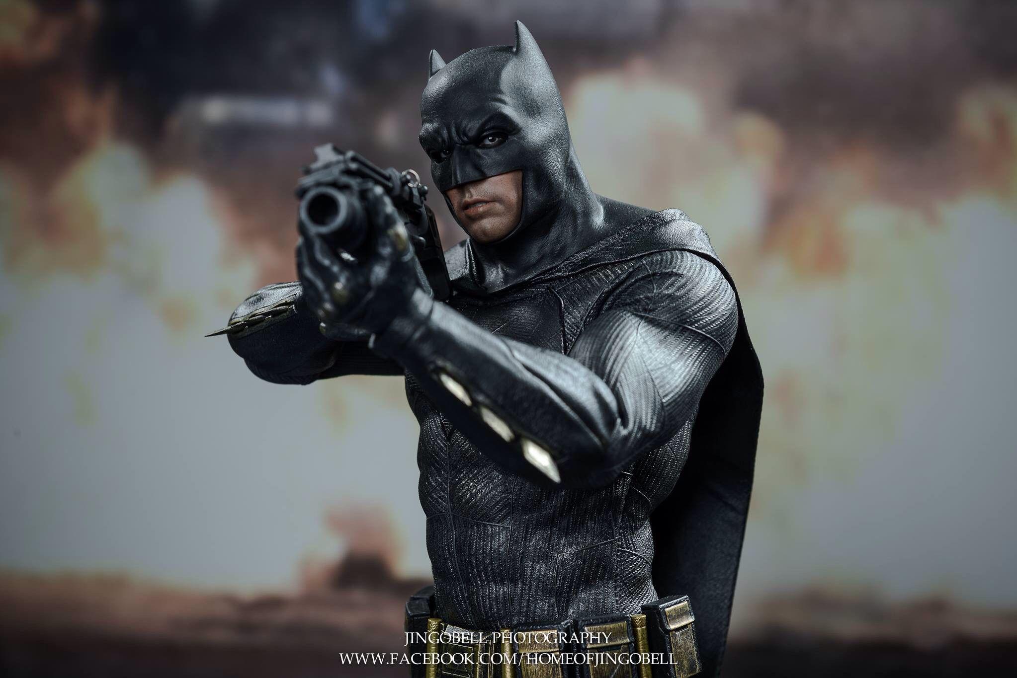 The Bat of Gotham is here!  The Batman v Superman: Dawn of Justice 1/6th scale Batman collectible figure's final product has arrived.  #Batman #Superman #BatmanVSuperman #DawnOfJustice