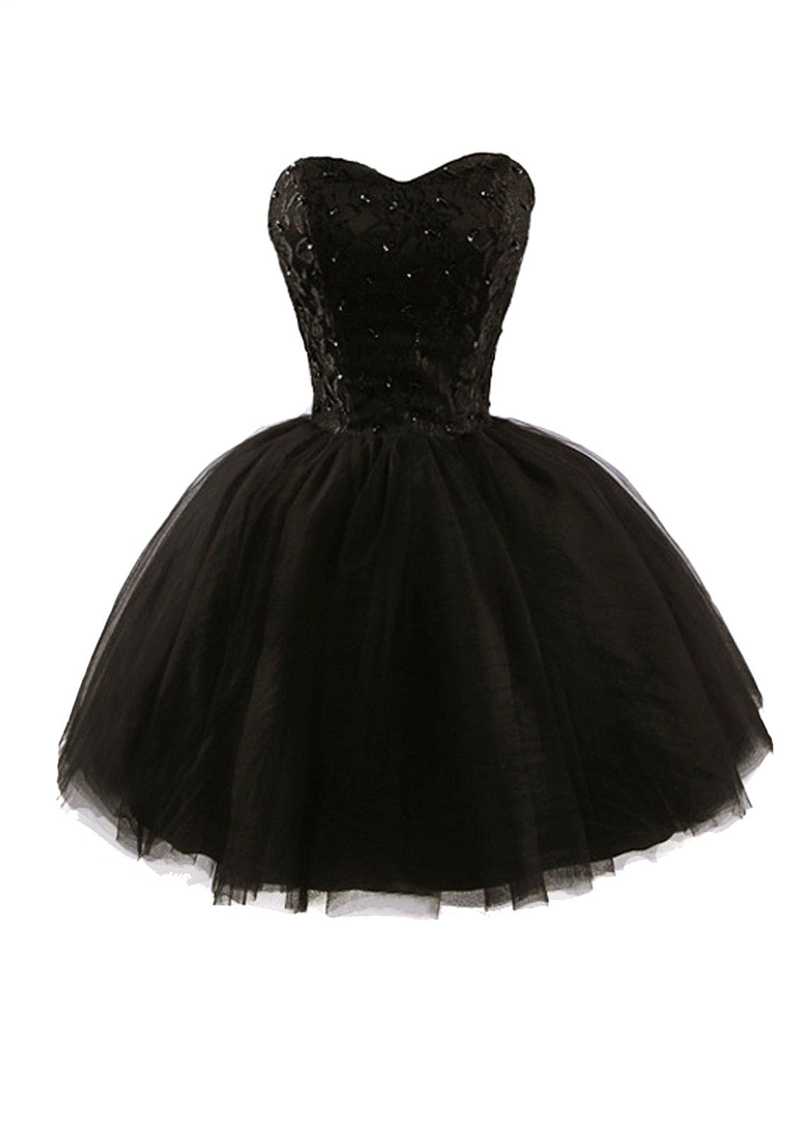 Aptro womenus sweetheart tulle short homecoming party dresses at