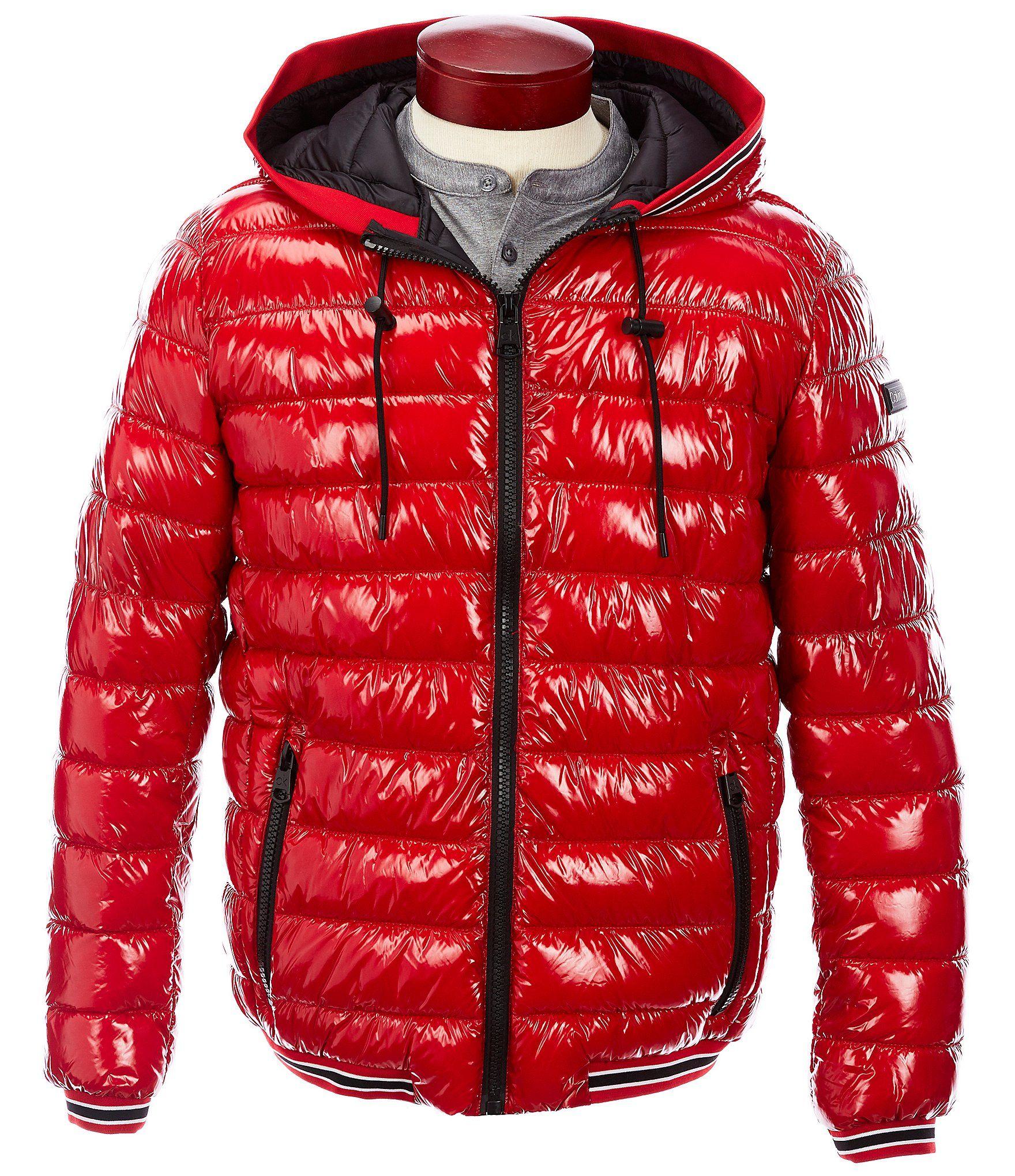 Calvin Klein Long Sleeve Super Shine Lightweight Puffer Jacket Dillard S Jackets Cool Jackets Klein [ 2040 x 1760 Pixel ]