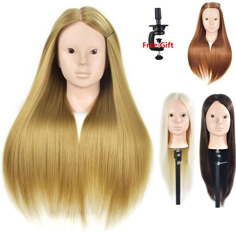 Mannequin Head Hair Maniqui Hairdressing Practice Heads Maniquies Women Educational Training Hairdresser Styling Head For Head Hair Mannequin Heads Hairdresser