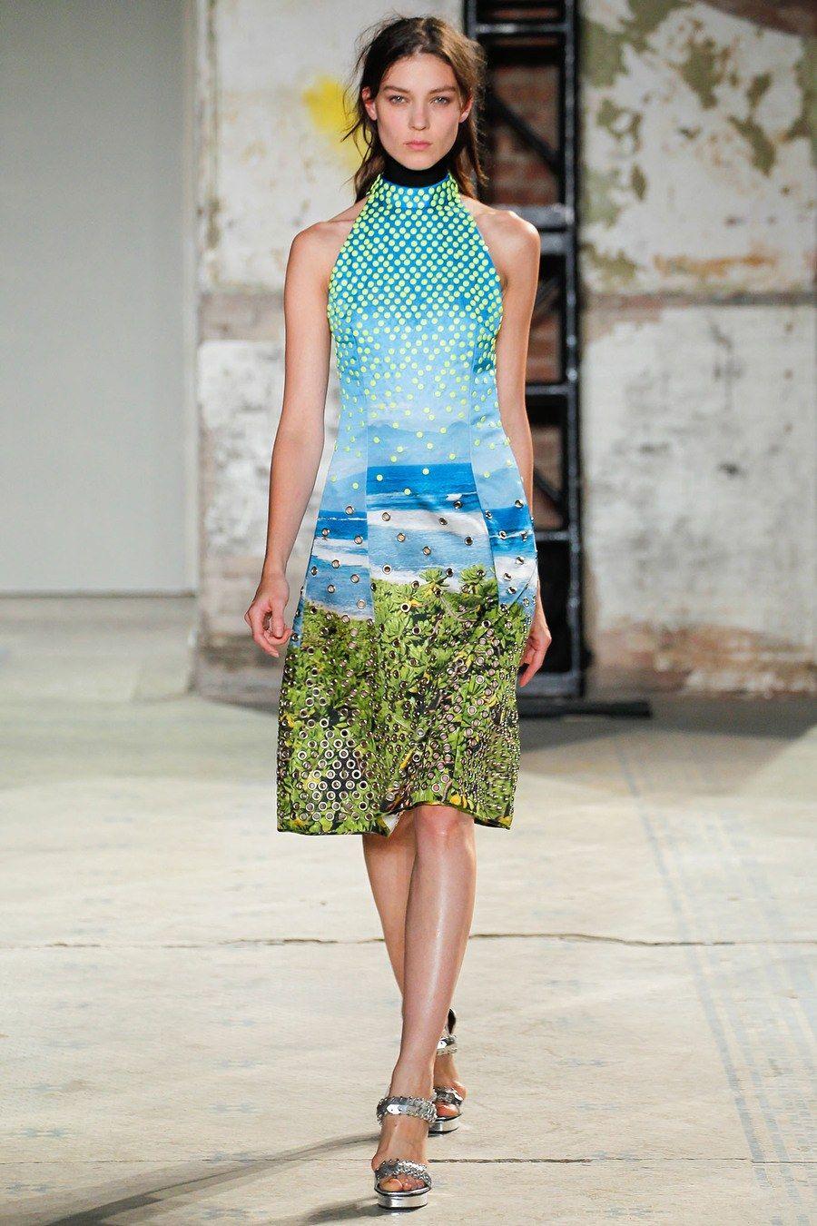 Proenza Schouler Spring 2013 Ready-to-Wear Fashion Show - Kati Nescher