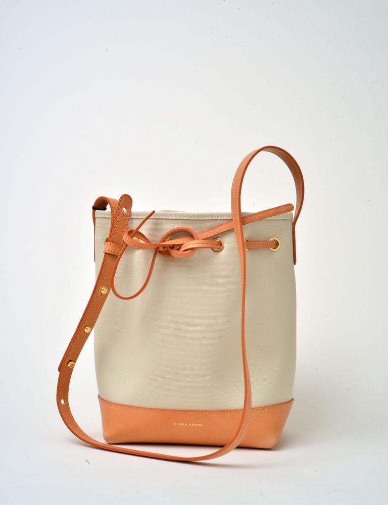 2b1eab11d Mansur Gavriel mini canvas bucket bag   bags   Bags, Bucket bag ...