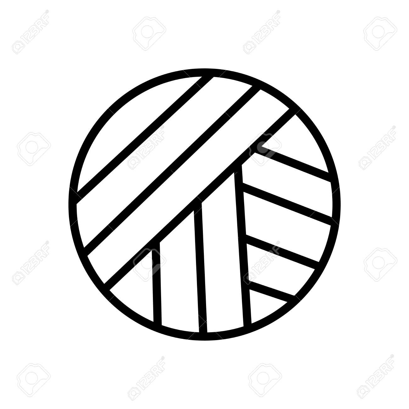 Volleyball Ball Icon Vector Isolated On White Background Volleyball Ball Transparent Sign L In 2020 Social Media Marketing Business Design Elements White Background