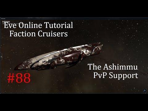 Eve Online Tutorial, Pt 88, Ashimmu PvP Support | eve online