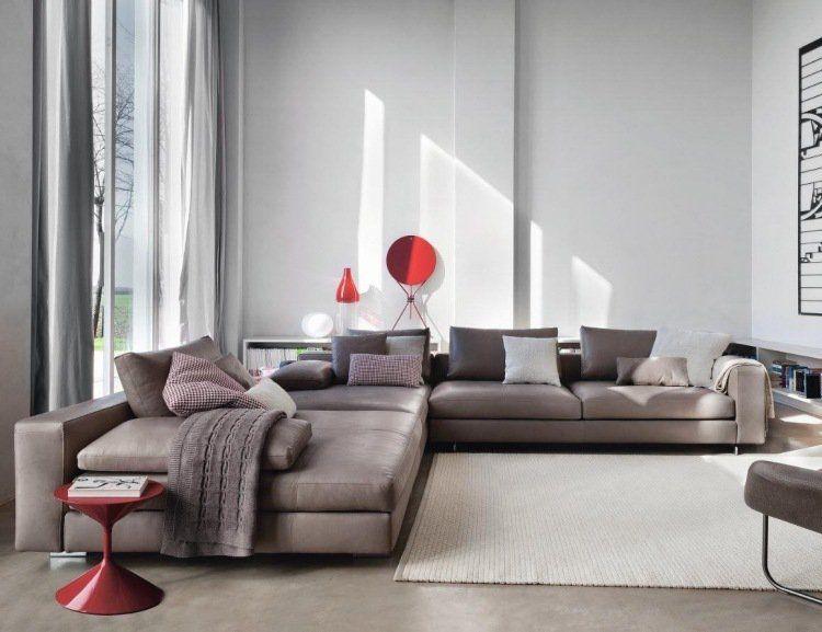Canapé xxl meuble design et moderne en format xxl