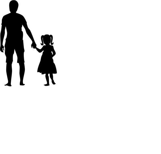 Черно белые картинки о папах для детей