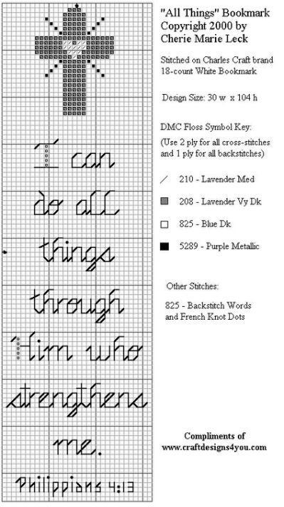 Free Cross Stitch Bookmark Cross Stitch Bookmarks Christian