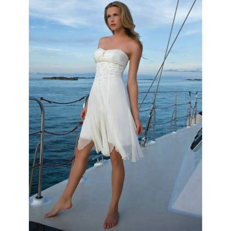 Casual Beach Wedding Dresses Short - if I loose enough weight this ...
