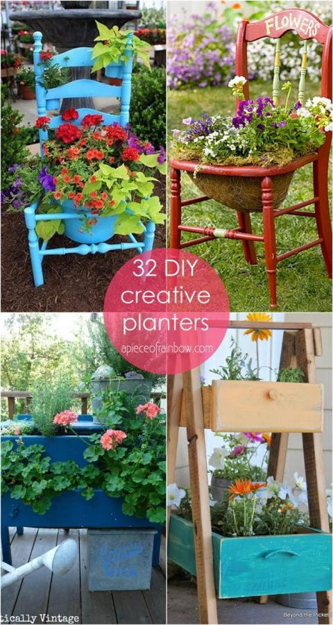 35 Creative Diy Planter Tutorials How To Turn Anything 640 x 480