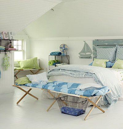 C mo decorar una casa de verano con estilo v ste tu casa - Muebles de playa ...