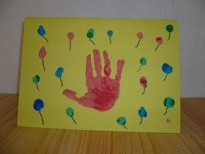 Grusskarten Geburtstagskarte Basteln Mit Kleinkindern Kreativ