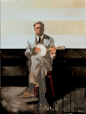 Michael Carson - Pastime - Contemporary Artist - Figurative Painting