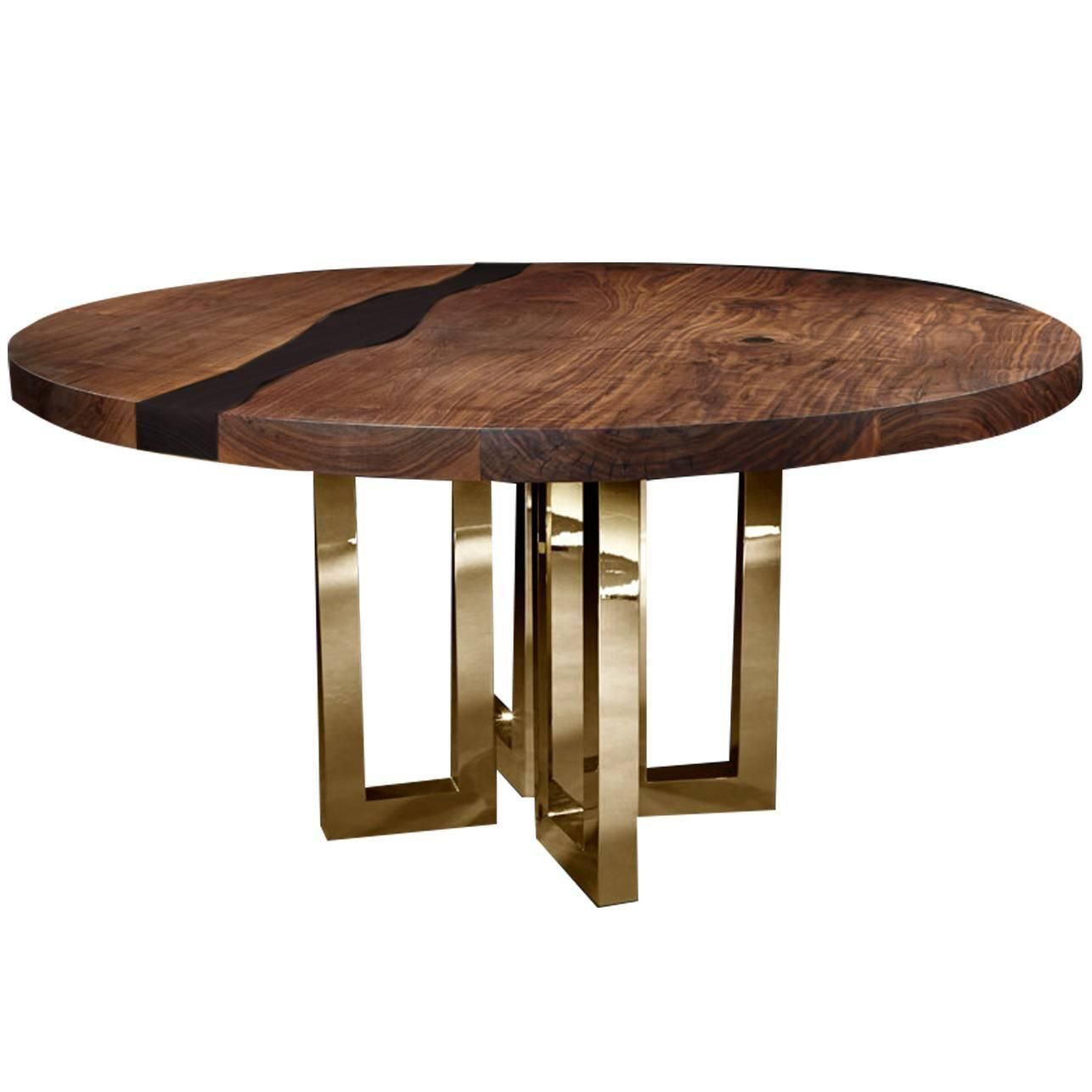il pezzo 6 round table black dining room table tables and rounding