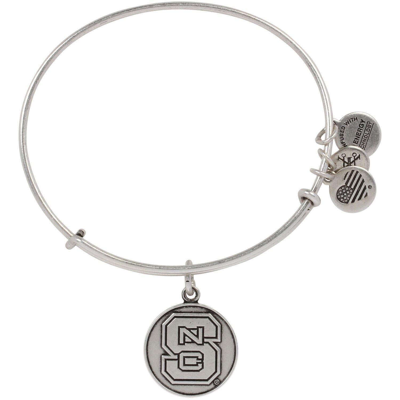 Women's Alex & Ani Silver NC State Wolfpack Bracelet #Affiliate #Ani, #Silver, #Women, #Alex