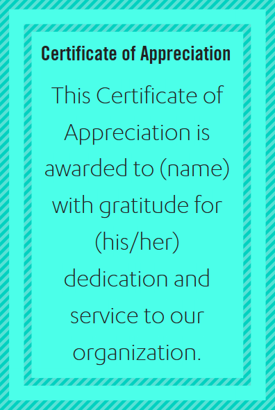 Certificate wording for healthcare industries appreciation words examples of certificate of appreciation wording for nurses and other healthcare employees and staff from yadclub