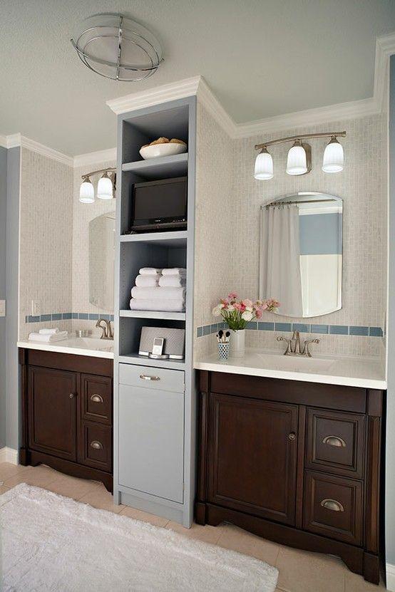 Bathroom vanity remodel.