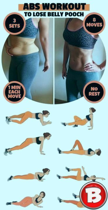 Photo of 8-minute abdominal training to quickly move the abdomen …