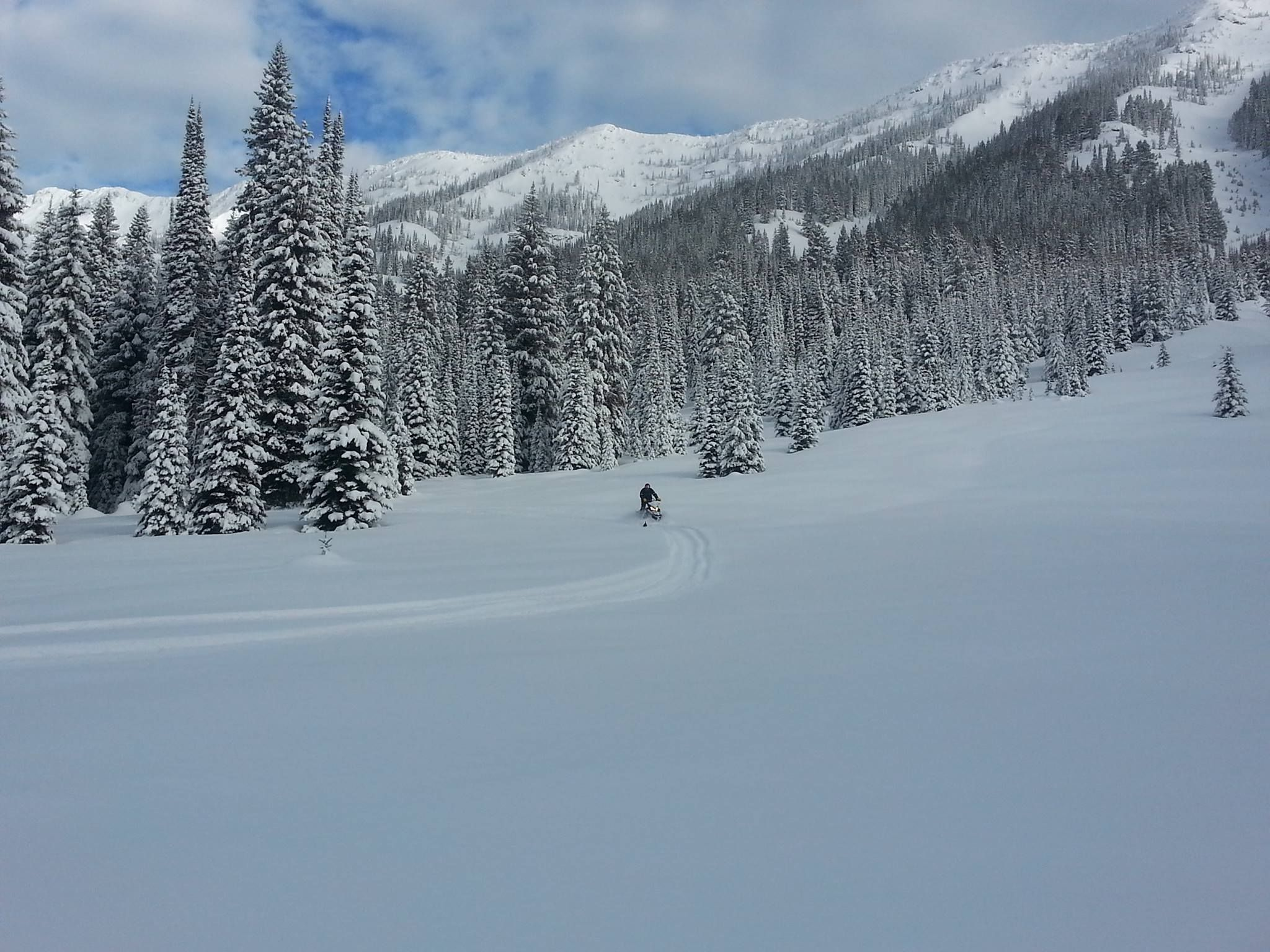 Best snowmobiling trails near me seeley lake