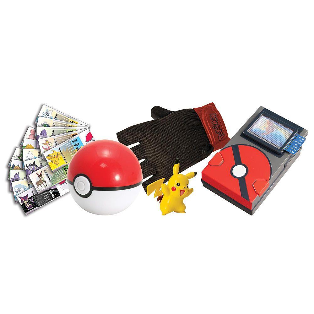 Toys For Trainers : Pokemon pokedex training kit pikachu tomy toys quot r