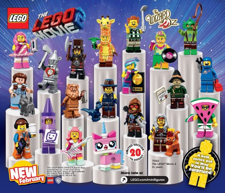 The LEGO Movie 2 Collectible Minifigures (71023) | Tailed | Lego