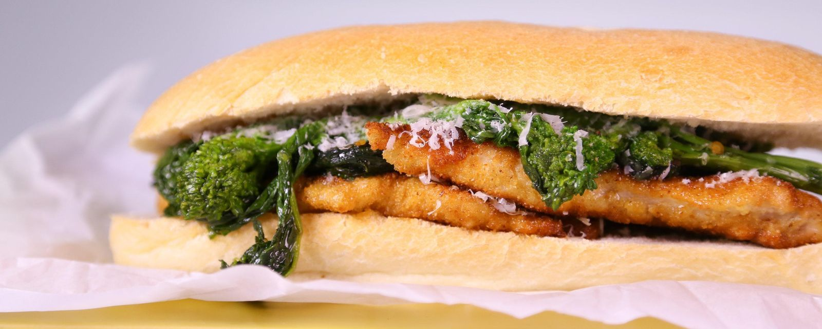 Michael symons turkey cutlet with broccoli rabe recipe by