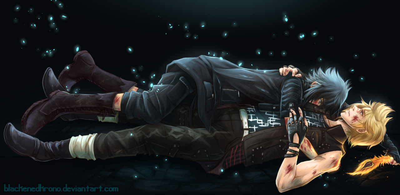 Defeated By Blackenedkrono Dauitxo Png 1280 624 Final Fantasy 15 Final Fantasy Xv Final Fantasy