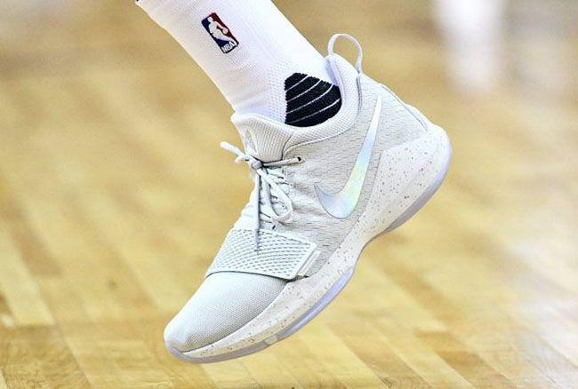 online retailer 8f062 7711f ... httpSneakersCartel.com Paul George Wears the Nike PG 1 in London  sneakers shoes kicks jordan ...