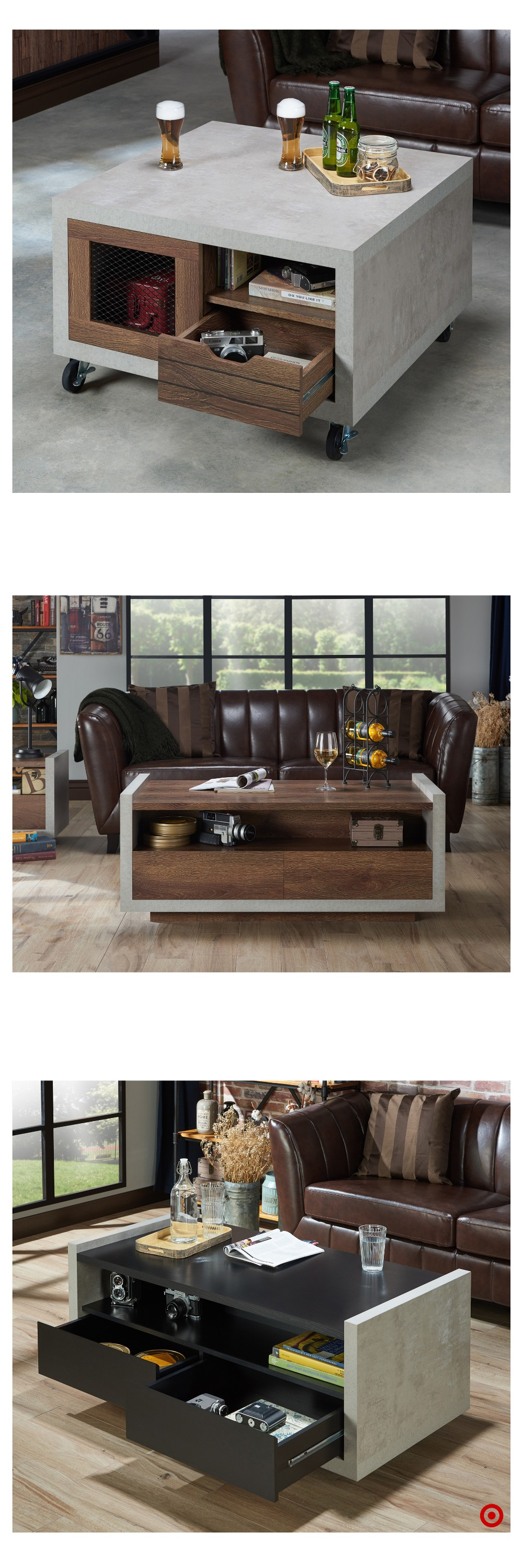 shop target for coffee table you will love at great low prices free shipping on all orders or. Black Bedroom Furniture Sets. Home Design Ideas