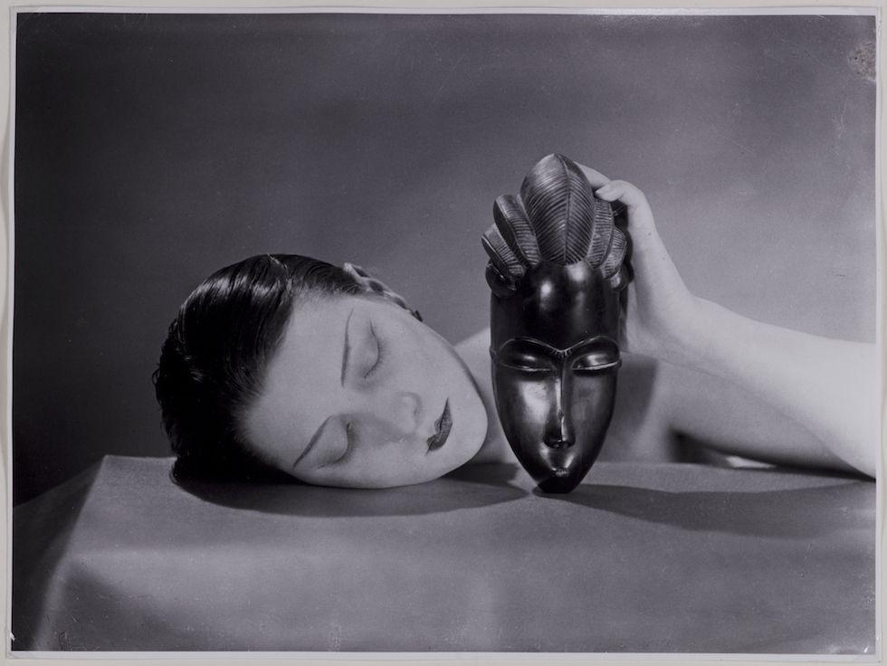 Man Ray Modigliani: La Mostra Su Man Ray -Noire Et Blanche, 1926 Fotografia