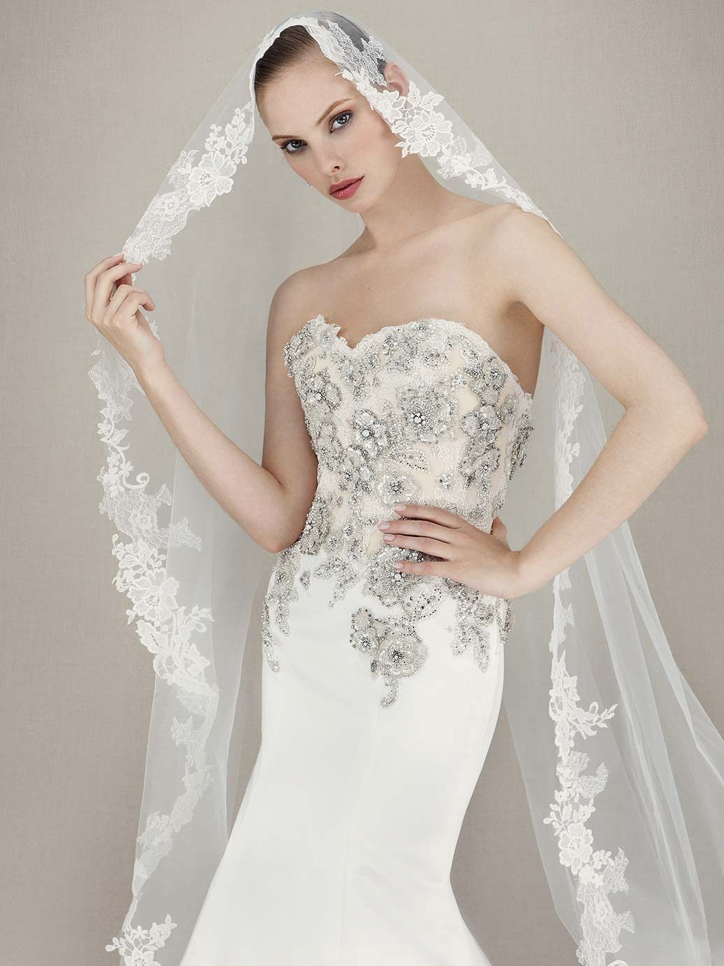2016 enzoani kassidy alternate view 2016 enzoani collection enzoani wedding dresses from the newest collection are todays beautiful bridal inspiration with the most stunning silhouettes ombrellifo Choice Image