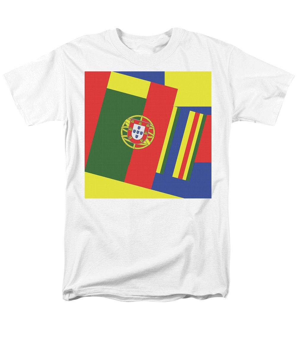 Portugal Men S T Shirt Regular Fit Featuring The Mixed Media