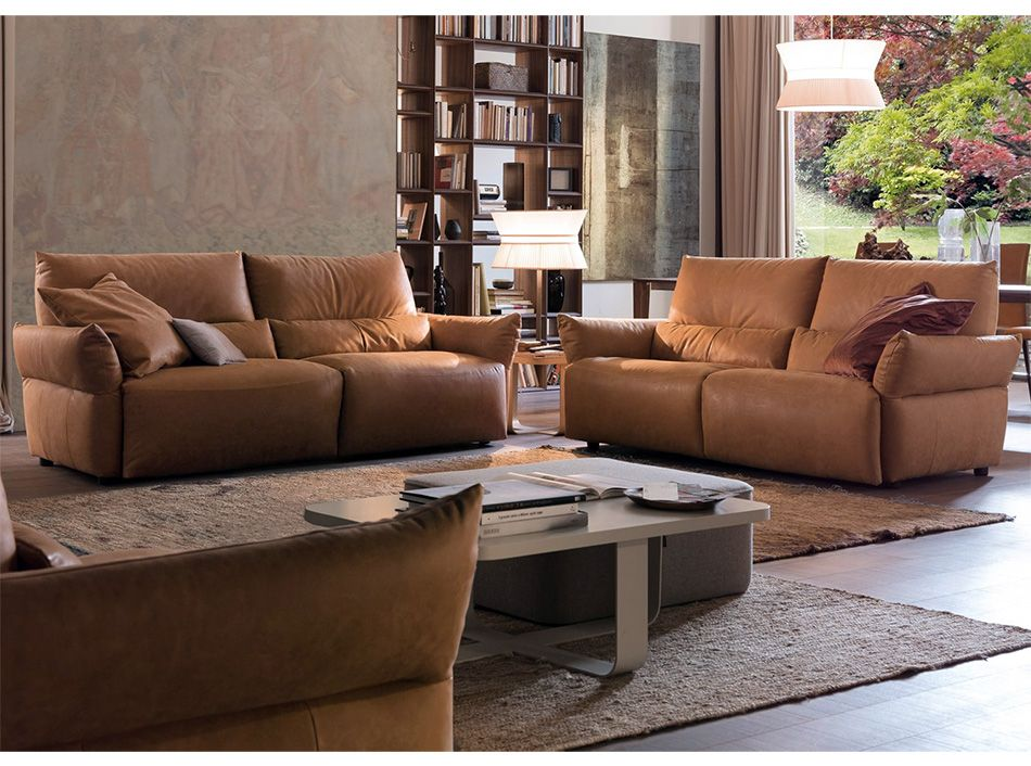 Emma 966e Reclining Sofa Set By Chateau D Ax Sofa Set Living Room Sofa Italian Sofa Set