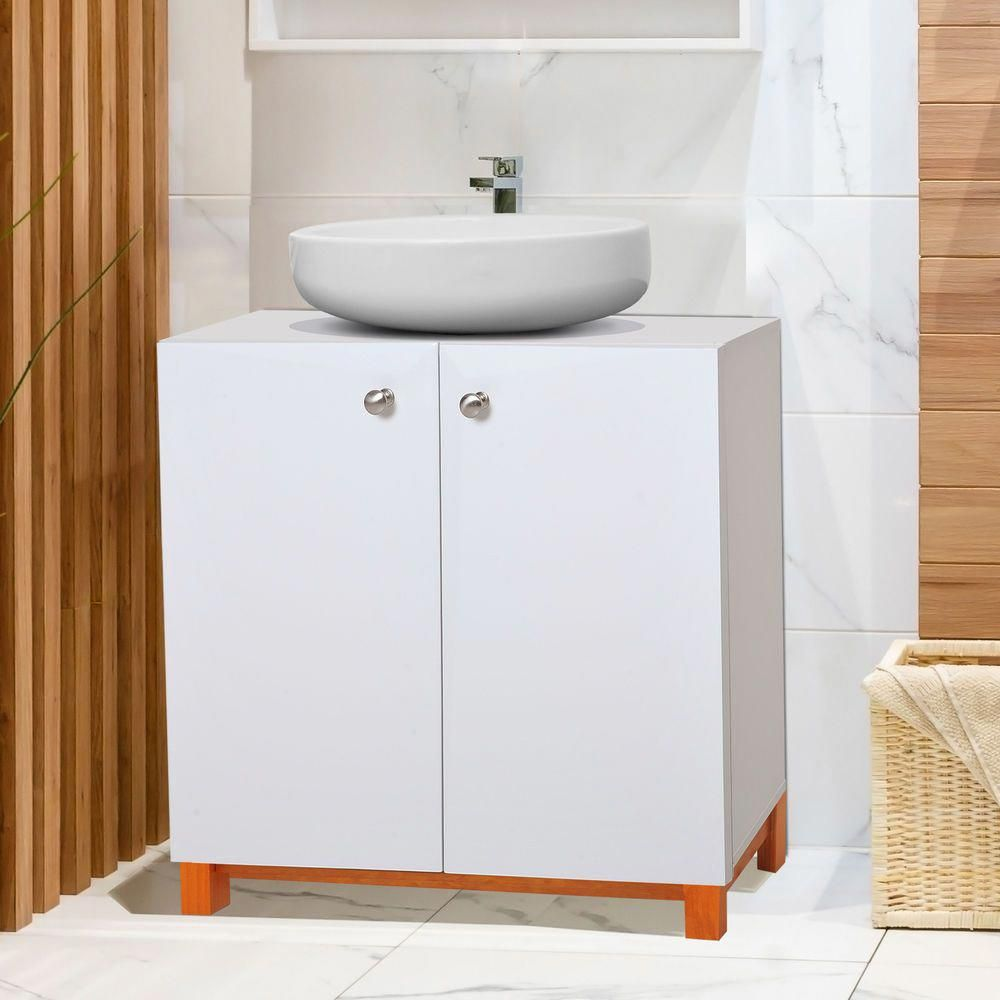 Kaukauna 61cm Under Sink Storage Unit In 2020 Under Sink Storage Unit Under Sink Storage Under Sink Cupboard