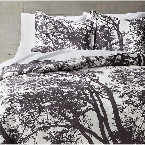 Marimekko Tuuli Raisin Bed Linens Black Amp White Tree Bed