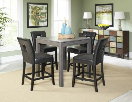 Dorian Pub Table W 4 Archstone Chairs 599 99 Dining Room Accents Dining Room Table Chairs Table Pub table and chairs for sale