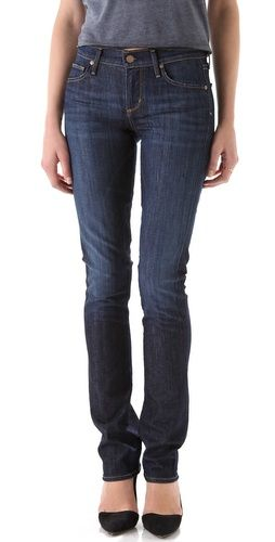 on the want list: skinny jeans with slouchy ankles.