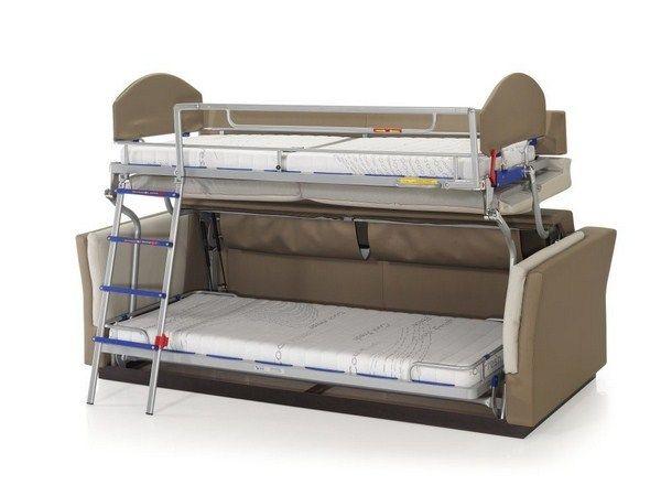 Etagenbett Sofa : Ecu presents us a sofa that turns into bunk living