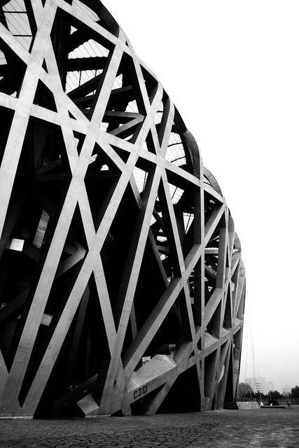 Beijing national stadium architektur stadion und for Raumgestaltung architektur