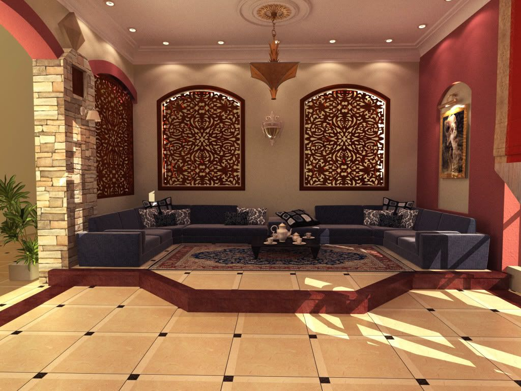Arabic Majlis Interior Design Decoration Inspiration Decorating Design
