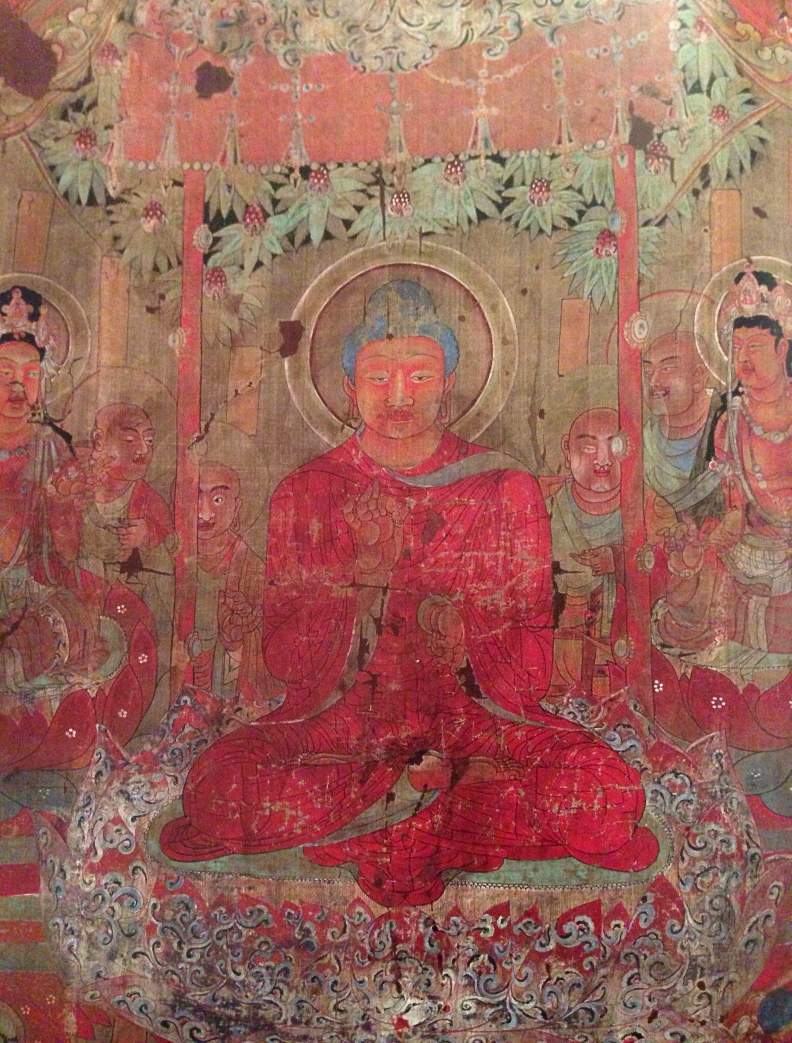 Buddha Preaching the Law c.700